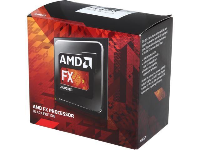 AMD FX 8320 Vishera 8 Core 35 GHz 40 Turbo Socket