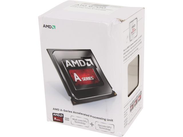 AMD A10-6700 Richland Quad-Core 3.7 GHz Socket FM2 65W AD6700OKHLBOX Desktop Processor AMD Radeon HD