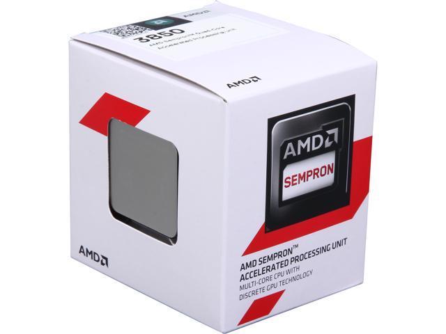 AMD Sempron 3850 Kabini Quad-Core 1.3 GHz Socket AM1 25W SD3850JAHMBOX Desktop Processor AMD Radeon HD 8280