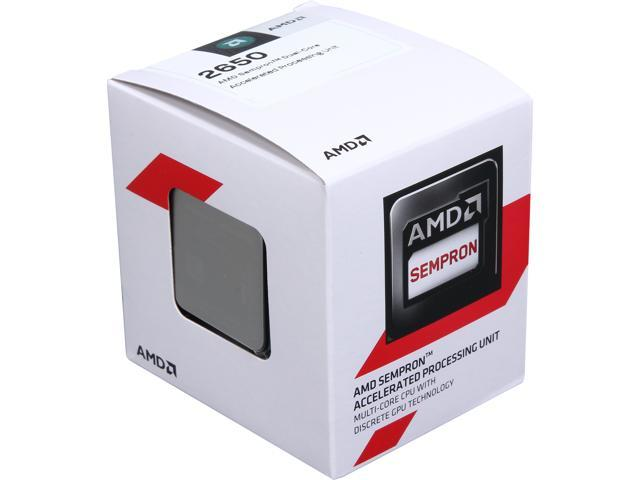 AMD Sempron 2650 Kabini Dual-Core 1.4 GHz Socket AM1 25W SD2650JAHMBOX Desktop Processor AMD Radeon HD 8240