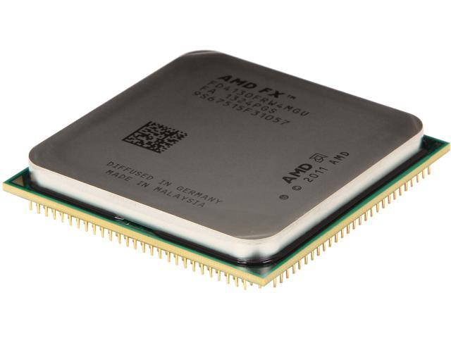 AMD FX-4130 Zambezi Quad-Core 3.8 GHz Socket AM3+ 125W FD4130FRW4MGU Desktop Processor Never used