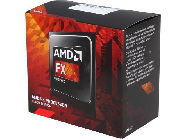AMD FX-8370 4.0 GHz (4.3 GHz Turbo) Socket AM3 ...