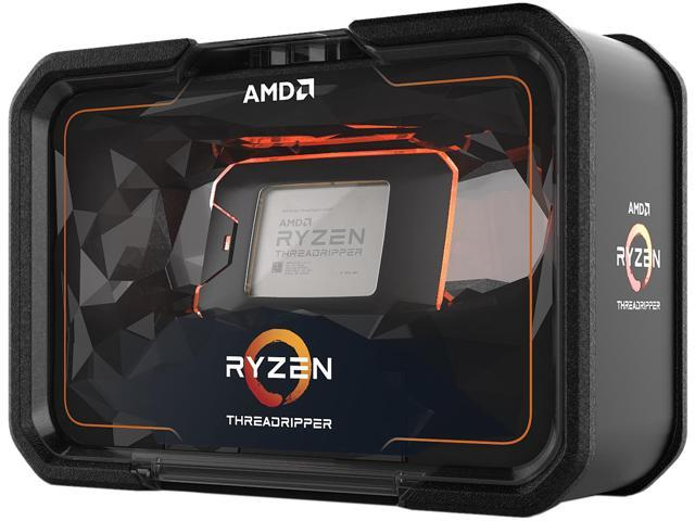AMD 2nd Gen RYZEN Threadripper 2990WX 32-Core, 64-Thread