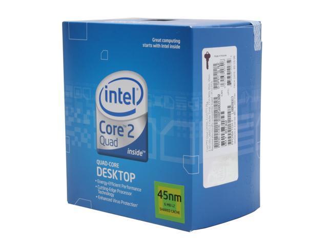 Intel Core 2 Quad Q9300 Yorkfield Quad-Core 2.5 GHz LGA 775 95W BX80580Q9300 Processor