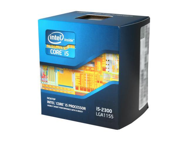 Intel Core i5-2300 Sandy Bridge 2.8GHz (3.1GHz Turbo Boost) LGA 1155 95W Quad-Core Desktop Processor Intel HD Graphics 2000 BX80623I52300