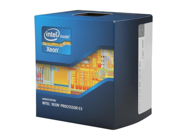 Intel Xeon E3-1275 Sandy Bridge 3.4 GHz LGA 1155 95W BX80623E31275 Server Processor