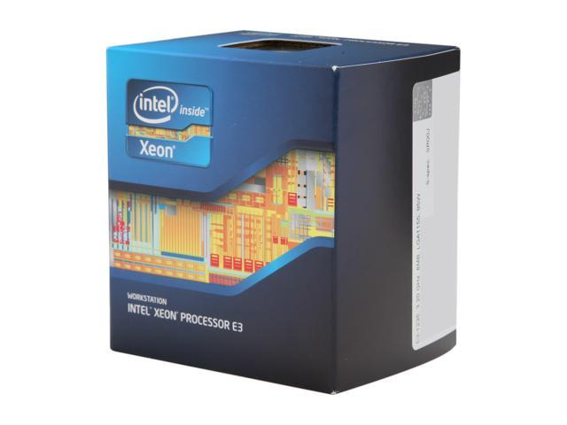 Intel Xeon E3-1235 Sandy Bridge 3.2 GHz LGA 1155 95W BX80623E31235 Server Processor