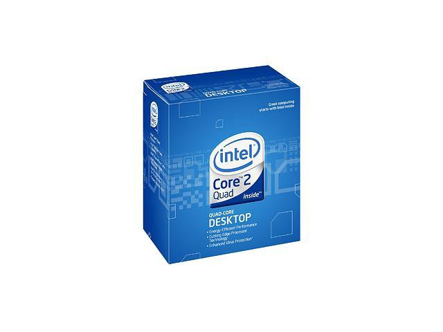 Intel Core 2 Quad Q8300 Yorkfield Quad-Core 2.5 GHz LGA 775 95W BX80580Q8300 Desktop Processor