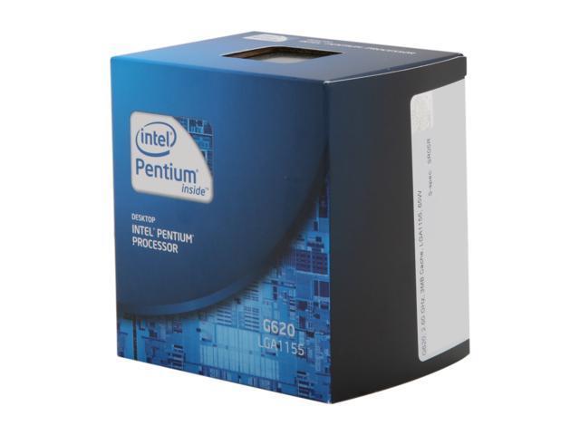 Intel Pentium G620 Sandy Bridge Dual-Core 2.6 GHz LGA 1155 65W BX80623G620 Desktop Processor Intel HD Graphics