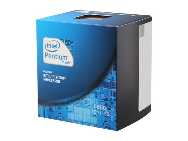 Intel Pentium G860 Sandy Bridge Dual-Core 3.0 GHz LGA 1155 65W BX80623G860 Desktop Processor Intel HD Graphics