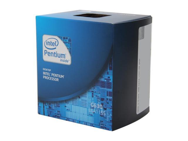 Intel Pentium G630 Sandy Bridge Dual-Core 2.7 GHz LGA 1155 65W BX80623G630 Desktop Processor Intel HD Graphics