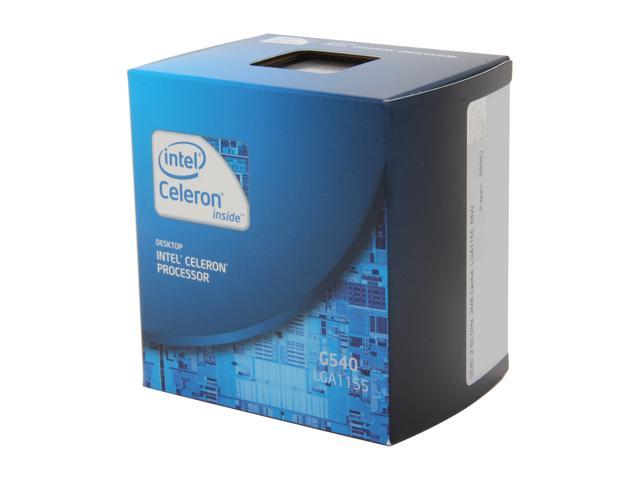 Intel Celeron G540 2.5 GHz LGA 1155 BX80623G540 Desktop Processor