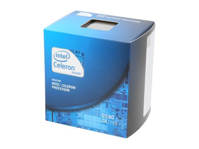 Intel Celeron G530 Sandy Bridge Dual-Core 2.4 GHz LGA 1155 65W BX80623G530 Desktop Processor Intel HD Graphics