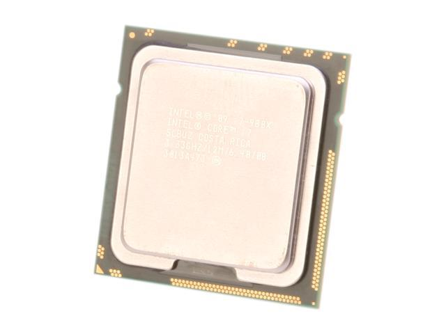 Intel Core i7-980X Extreme Edition Gulftown 6-Core 3.33 GHz LGA 1366 130W I7 980X (SLBUZ) Desktop Processor