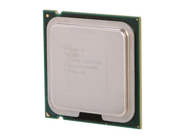 Intel Pentium D 915 Presler Dual-Core 2.8 GHz LGA 775 95W PD915-R Desktop Processor