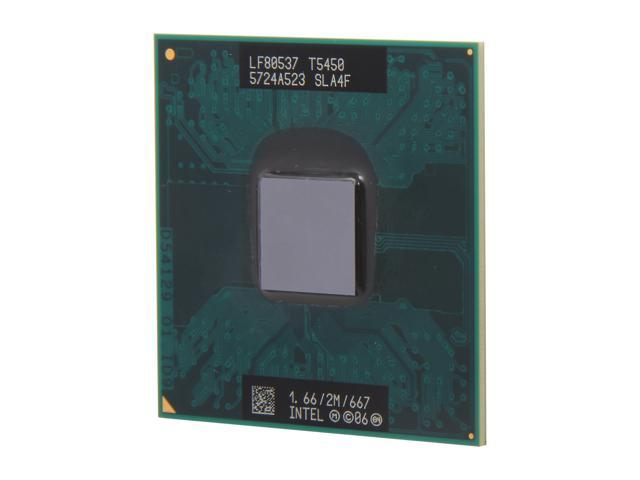 Intel Core 2 Duo T5450 Merom 1.66GHz Socket P Dual-Core T5450 Mobile Processor