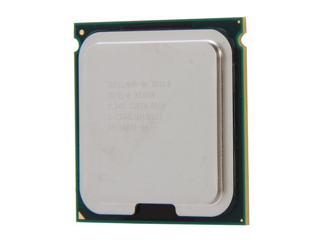 Intel Xeon X5260 3.33 GHz LGA 771 80W SLBAS Server Processor