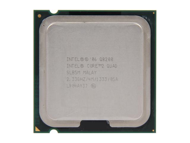 Intel Core 2 Quad Q8200 2.33 GHz LGA 775 SLB5M Desktop Processor