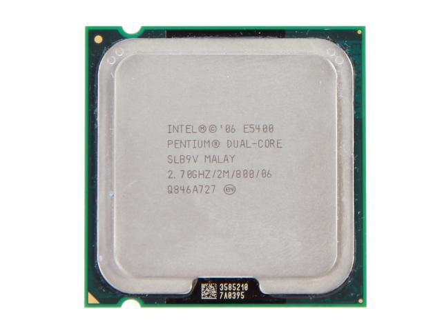 Intel Pentium Dual-Core E5400 2.7 GHz LGA 775 SLB9V Desktop Processor