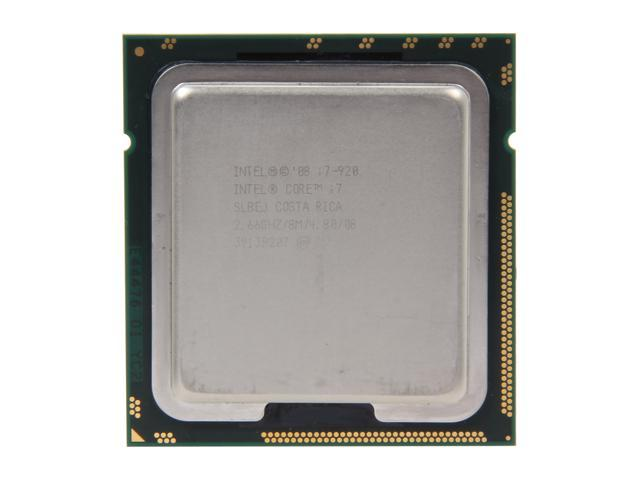 Intel Core i7-920 Bloomfield Quad-Core 2.66GHz (2.93GHz Turbo Boost) LGA 1366 130W SLBEJ Desktop Processor