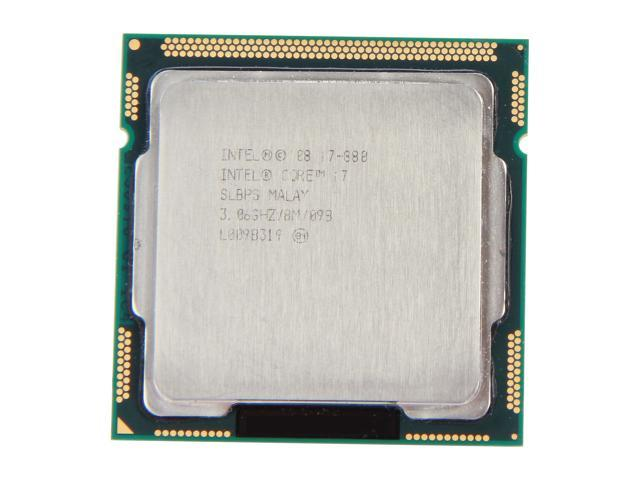 Intel Core i7-880 3.06GHz (3.73GHz Turbo Boost) LGA 1156 SLBPS Desktop Processor