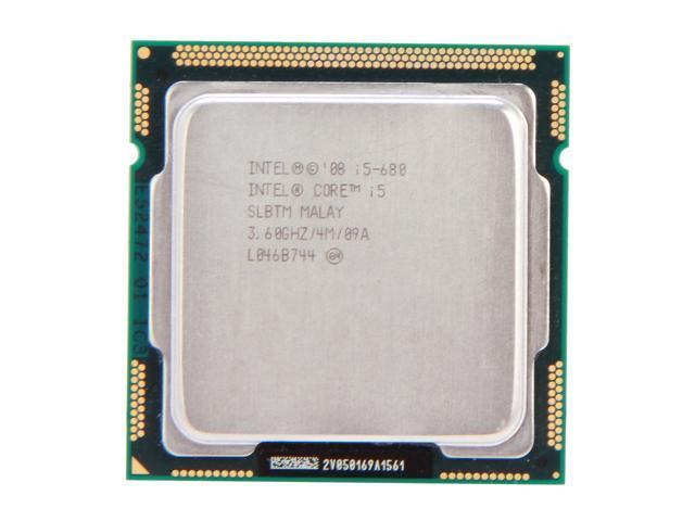 Intel Core i5-680 Clarkdale Dual-Core 3.6GHz (3.86GHz Turbo Frequency) LGA 1156 73W SLBTM Desktop Processor Intel HD Graphics