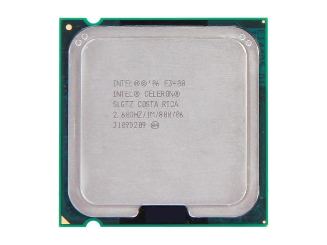 Intel Celeron E3400 2.6 GHz LGA 775 SLGTZ Desktop Processor