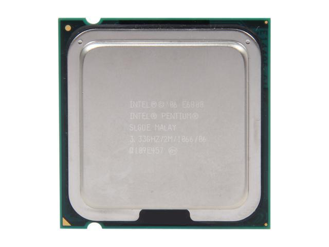 Intel Pentium E6800 3.33 GHz LGA 775 SLGUE Desktop Processor