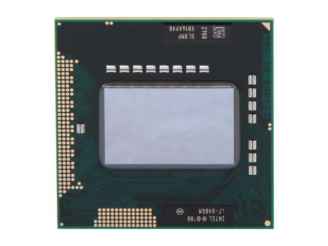 Intel Core i7-840QM 1.87GHz (3.2GHz Turbo) Socket G1 45W 612260-001 Mobile Processor