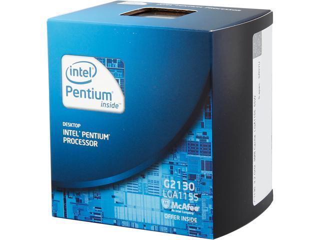 Intel Pentium G2130 Ivy Bridge Dual-Core 3.2 GHz LGA 1155 55W BX80637G2130 Desktop Processor