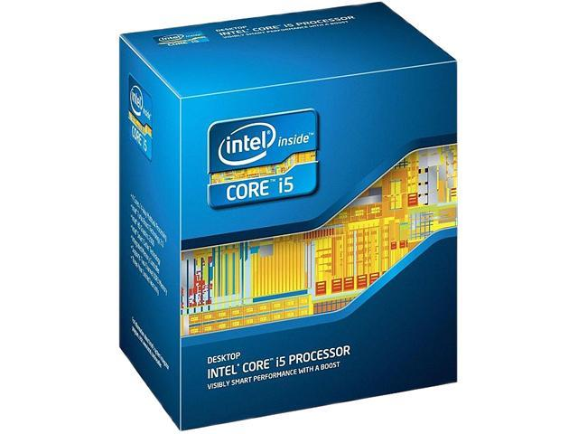 Intel Core i5-3340 Ivy Bridge Quad-Core 3.1GHz (3.3GHz Turbo) LGA 1155 77W BX80637I53340 Desktop Processor Intel HD Graphics