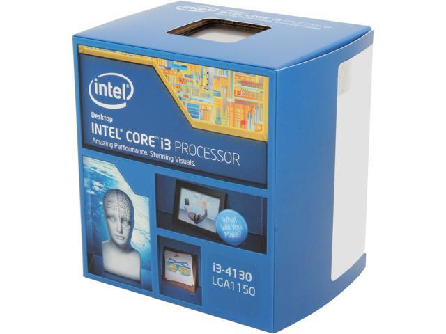 Intel Core i3-4130 Haswell Dual-Core 3.4 GHz LGA 1150 54W BX80646I34130 Desktop Processor Intel HD Graphics 4400