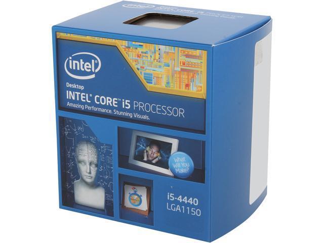 Intel Core i5-4440S Haswell Quad-Core 2.8GHz (3.3GHz Turbo) LGA 1150 65W BX80646I54440S Desktop Processor Intel HD Graphics ...