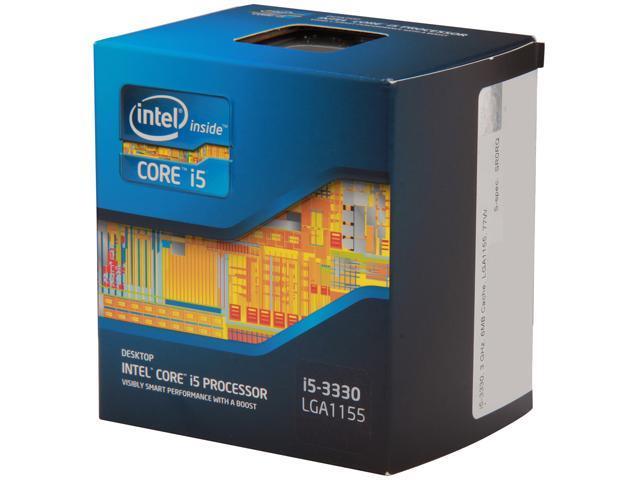 Intel Core i5-3340S Ivy Bridge Quad-Core 2.8GHz (3.3GHz Turbo) LGA 1155 65W BX80637I53340S Desktop Processor Intel HD Graphics