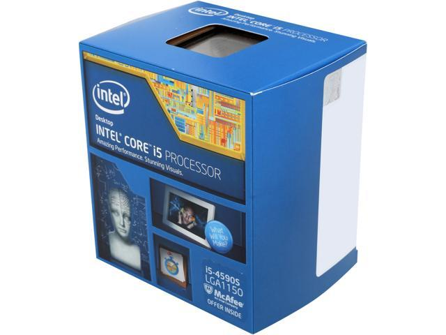Intel Core i5-4590S Haswell Quad-Core 3.0 GHz LGA 1150 65W BX80646I54590S Desktop Processor Intel HD Graphics 4600