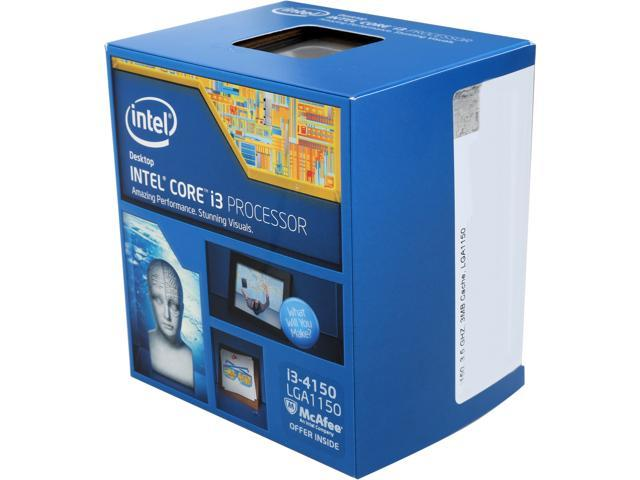 Intel Core i3-4150 Haswell Dual-Core 3.5 GHz LGA 1150 54W BX80646I34150 Desktop Processor Intel HD Graphics 4400