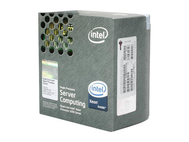 Intel Xeon X3220 Kentsfield 2.4 GHz LGA 775 105W BX80562X3220 Processor