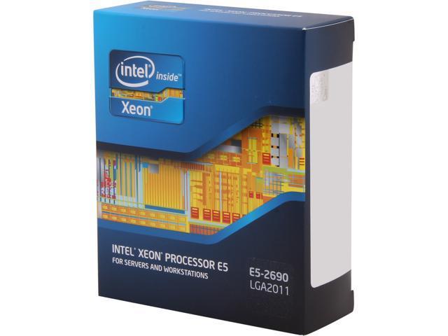 Intel Xeon E5-2690 2.9GHz (3.8GHz Turbo Boost) LGA 2011 135W BX80621E52690 Server Processor
