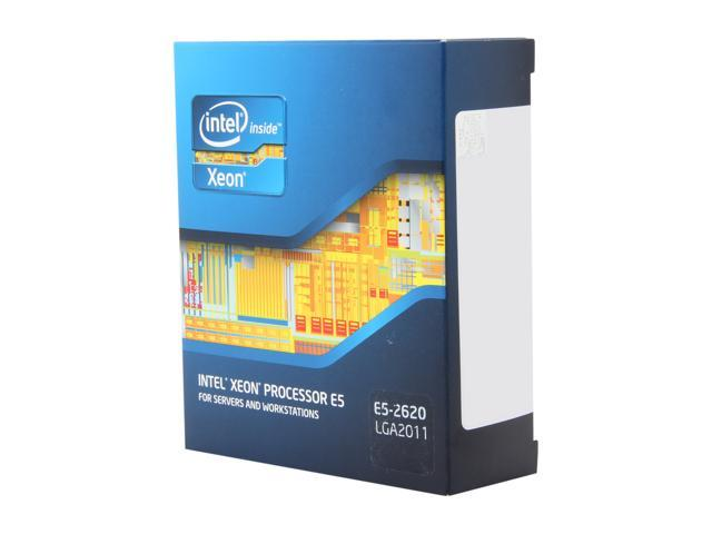 Intel Xeon E5-2620 Sandy Bridge-EP 2.0GHz (2.5GHz Turbo Boost) LGA 2011 95W BX80621E52620 Server Processor