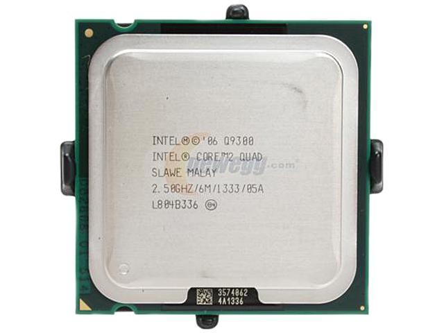 Intel Core 2 Quad Q9300 Quad-Core 2.5 GHz LGA 775 95W EU80580PJ0606M Desktop Processor