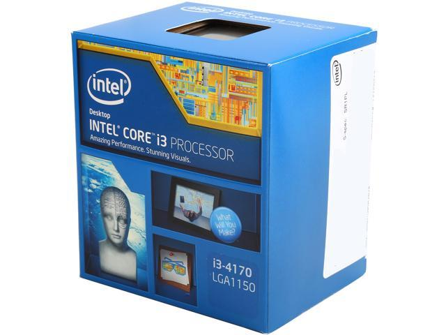Intel Core i3-4170 Haswell Dual-Core 3.7 GHz LGA 1150 54W BX80646I34170 Desktop Processor Intel HD Graphics 4400