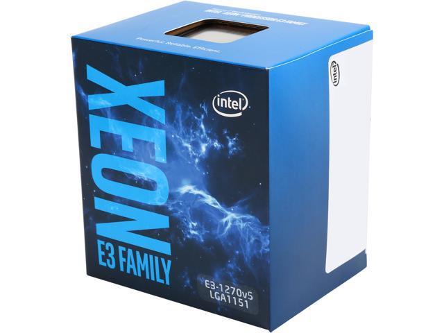 Intel Xeon E3-1270 v5 SkyLake 3.6 GHz LGA 1151 80W BX80662E31270V5 Server Processor