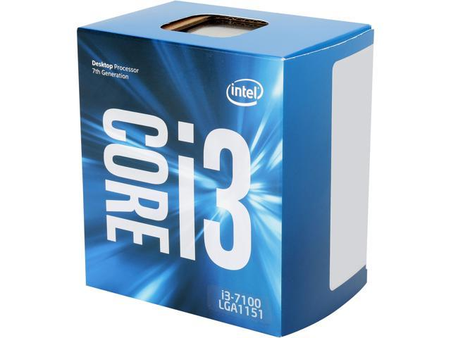 Image result for CPU: Intel Core i3-7100