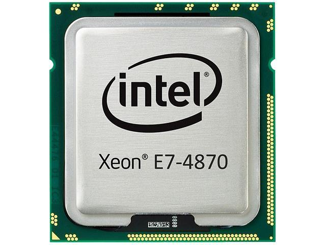 Intel Xeon E7-4870 2.4 GHz LGA 1567 130W 653050-001 Processors - Server