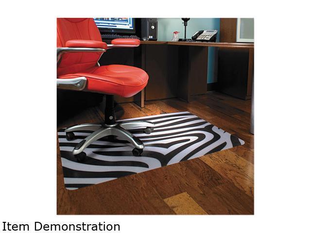 Design Series Printed Chair Mat Hard Floor 48w X 36l