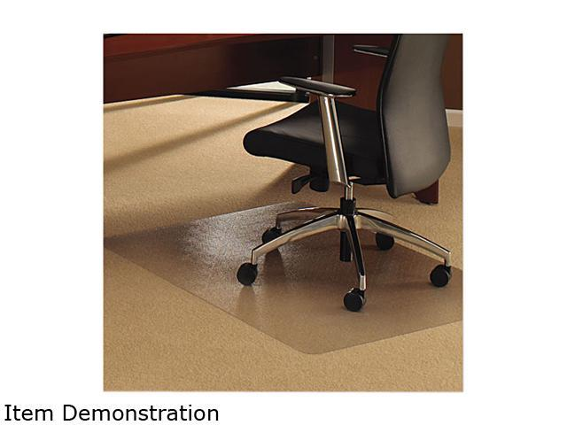 Cleartex Ultimat Chair Mat For Plush Pile Carpets 53 X 48 Clear