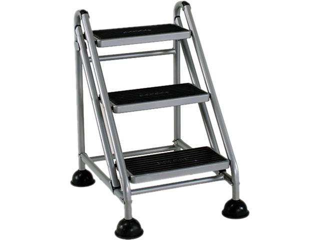 Cosco Rolling Commercial Step Stool 3 Step 26 3 5 Spread