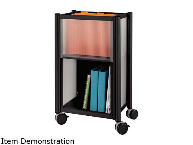 Safco 5376BL Impromptu Mobile Storage Center, 18-3/4w x 16d x 26-1/2h, Black