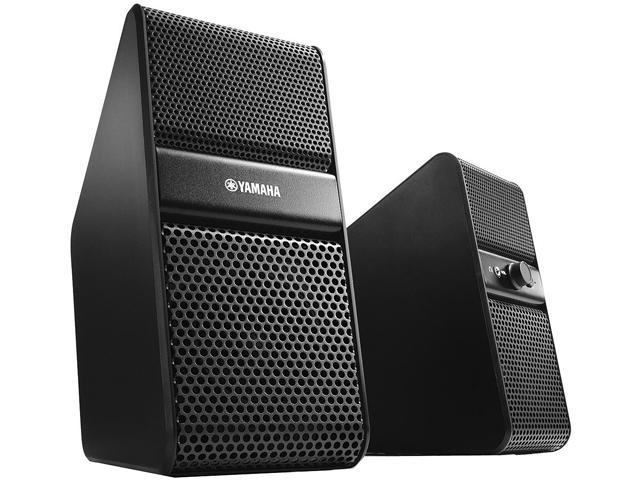 yamaha nx 50 premium computer speakers black. Black Bedroom Furniture Sets. Home Design Ideas
