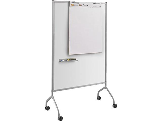 Impromptu Magnetic Whiteboard Collaboration Screen 42w x 21 1/2d x 72h Gray